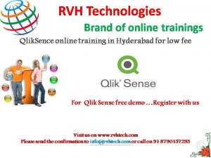 Qliksense self paced online training videos