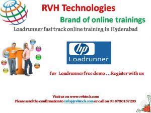 loadrunner fast track