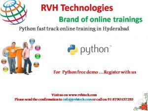 python fast track